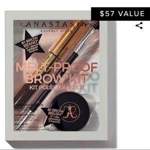 Anastasia Beverly Hills Makeup - Anastasia Melt-Proof Brow Kit - Ebony